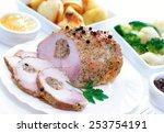 Fresh Organic Breaded Pork Ham...