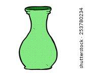 retro comic book style cartoon... | Shutterstock .eps vector #253780234
