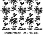 vector background for fabric.... | Shutterstock .eps vector #253788181