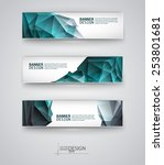 business design templates. set... | Shutterstock .eps vector #253801681