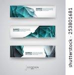 business design templates. set... | Shutterstock .eps vector #253801681