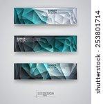 business design templates. set... | Shutterstock .eps vector #253801714