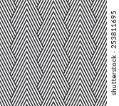 seamless art deco optical... | Shutterstock .eps vector #253811695