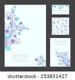 corporate identity template... | Shutterstock .eps vector #253851427