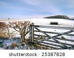 Farm Gate And Hedge Blocks...