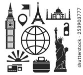 Travel Web And Mobile Logo...