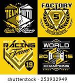 motocross sport shield emblem...