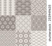 japanese pattern | Shutterstock .eps vector #253949635