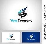 creative letter s logo design....   Shutterstock .eps vector #253983775