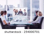 group of business people... | Shutterstock . vector #254000701