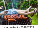 Garden Party. Roasted Sausages...