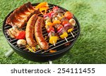 Selection Of Meat Grilling Ove...