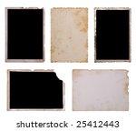 vintage photo set. no2   Shutterstock . vector #25412443