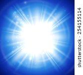 vector illustration of bright... | Shutterstock .eps vector #254155114