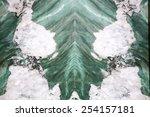 Green marble onyx - stock photo