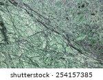 Green rock background - stock photo