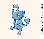 bizarre monster theme elements   Shutterstock .eps vector #254215861