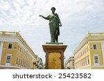monument rishelie dyuk on... | Shutterstock . vector #25423582