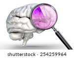 Scan On Human Brain With...
