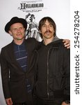 """Small photo of Flea and Anthony Kiedis attend the 3rd Annual """"Hullabaloo"""" to benefit the Silvelake Conservatory of Music held at the Henry Ford Theater in Hollywood, California on May 5, 2007."""