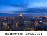 new york | Shutterstock . vector #254317021