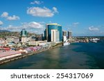 king's wharf in port of spain... | Shutterstock . vector #254317069