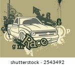 car backgrounds series in... | Shutterstock .eps vector #2543492