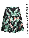 flower pattern skirt | Shutterstock . vector #254368417