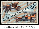 czechoslovakia   circa 1969 ... | Shutterstock . vector #254414725