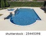 Luxury Swimming Pool In Back...