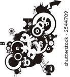 exquisite series of typography...   Shutterstock .eps vector #2544709