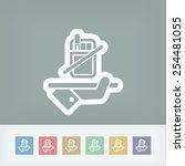 no smoke icon | Shutterstock .eps vector #254481055