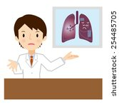 doctor for a description of the ... | Shutterstock .eps vector #254485705