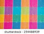 Colorful Linen Texture...