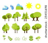 vector illustration of assorted ... | Shutterstock .eps vector #25451698