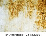 plate of metal rusty on all... | Shutterstock . vector #25453399