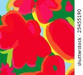 modern floral backgroung   Shutterstock .eps vector #25455190