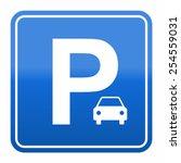 parking sign   Shutterstock .eps vector #254559031