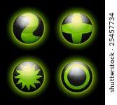 vector spheric symbols