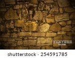stones background vector | Shutterstock .eps vector #254591785