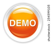 demo icon | Shutterstock . vector #254599105