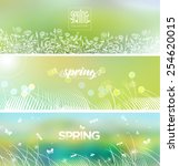 Spring's Logo On Blurred...