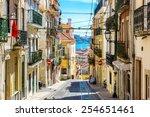 Old Lisbon Street In A...