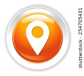 map pointer  icon | Shutterstock .eps vector #254705431