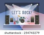 modern flat vector illustration ...   Shutterstock .eps vector #254743279