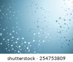 molecular structures background ... | Shutterstock .eps vector #254753809