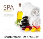 Постер, плакат: Spa still life Spa