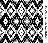 vector seamless ethnic pattern... | Shutterstock .eps vector #254765731