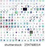 mega collection of universal... | Shutterstock .eps vector #254768014