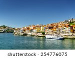 view of the douro river and... | Shutterstock . vector #254776075